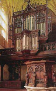 Photo of Sherborne Abbey Organ