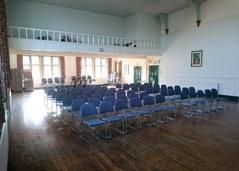 Main hall seating