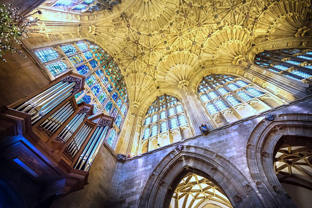 Sherborne Abbey Ceiling