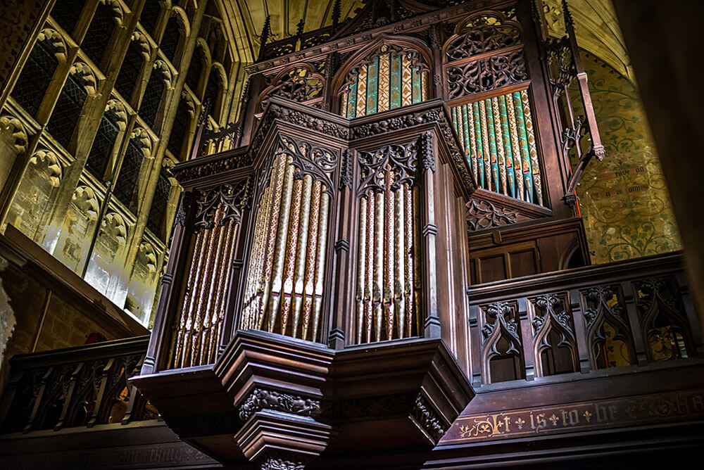 Sherborne Abbey Organ